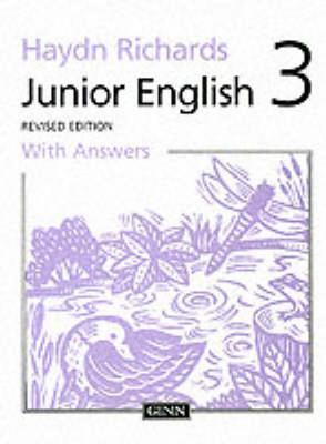 Junior English 1997: Pupil Book with Answers Book 3