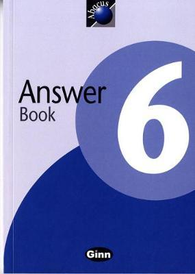 1999 Abacus Year 6 / P7: Answer Book