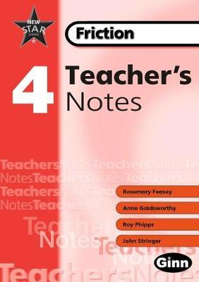 New Star Science: Year 4 Friction: Teacher Notes