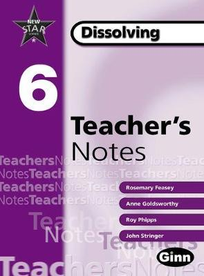 New Star Science Yr6/P7: Dissolving Teacher Notes