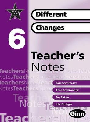 New Star Science Yr 6/P7 Different Changes Teacher Notes