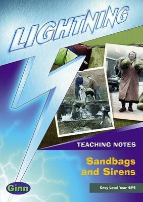 Lightning Non Fiction Year 4: Sandbags and Sirens Teacher's Notes Book 1