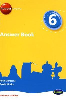 Answer Book: Year 6 Part 7