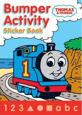 Thomas and Friends Bumper Activity Sticker Book