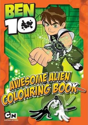 Ben10 Awesome Alien Colouring Book