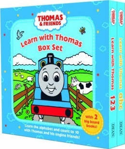 Learn with Thomas Box Set