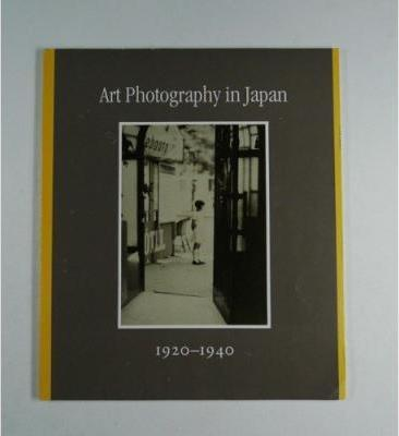 Art Photography in Japan. 1920 - 1940.