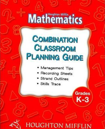 Houghton Mifflin Mathematics Grades K-3
