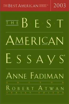 The Best American Essays 2003