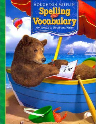 Houghton Mifflin Spelling and Vocabulary, Level 1