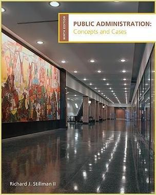 public administration concepts and cases