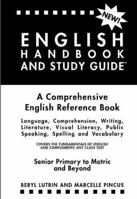 the english handbook and study guide marcelle pincus 9780620285209 rh bookdepository com Non Fiction Study Guide Non Fiction Study Guide