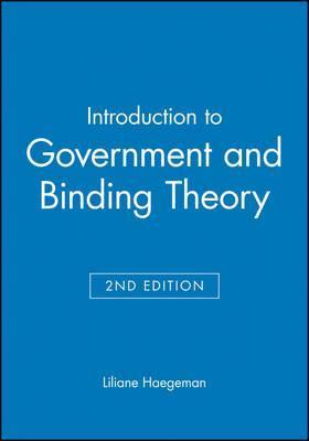 Introduction to Government and Binding Theory 2E