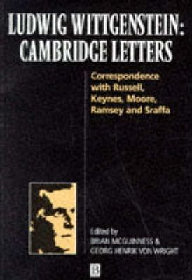 Ludwig Wittgenstein: Cambridge Letters
