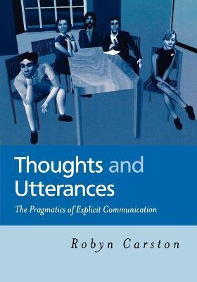 Thoughts and Utterances