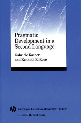 Pragmatic Development in a Second Language