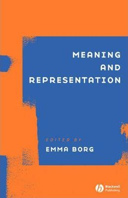 Meaning and Representation