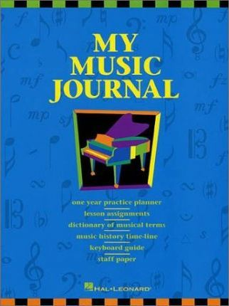 My Music Journal International Hl Student Piano Library