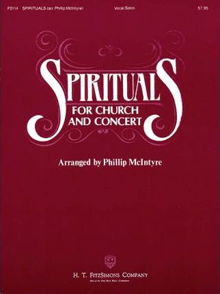 Spirituals for Church and Concert