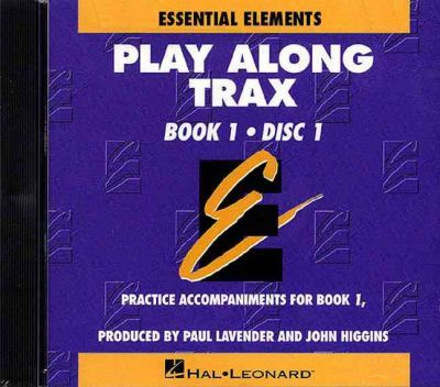 Essential Elements Book 1-Disk 1 Play Along Trax