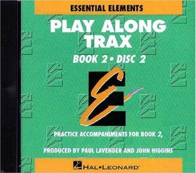 Essential Elements Play Along Trax Book 2 Disc 2