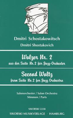 Second Waltz from Suite No  2 for Jazz Orchestra : Dmitri