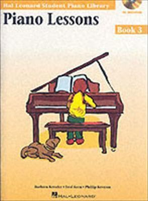 Hal Leonard Student Piano Library : Piano Lessons Book 3 (Book/Online Audio)