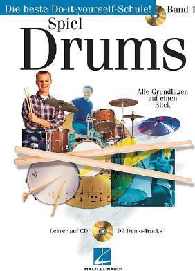 German Play Today Drum Level 1 Bk/CD