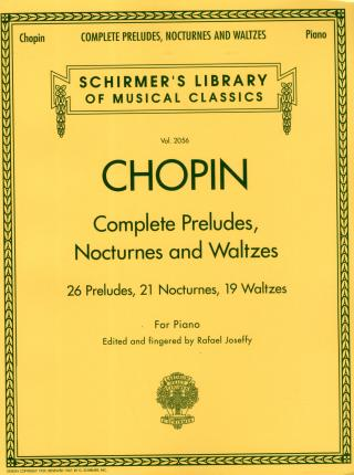 Complete Preludes, Nocturnes and Waltzes