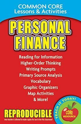 Personal Finance - Common Core Lessons & Activities