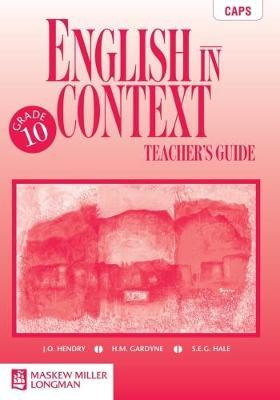 English in Context: Gr 10: Teacher's Guide NCS2