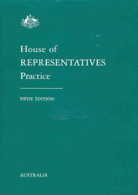 House of Representatives Practice