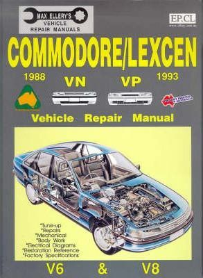 Commodore/Lexcen: 1988-1993 Vn VP (6 Cyl & V8)