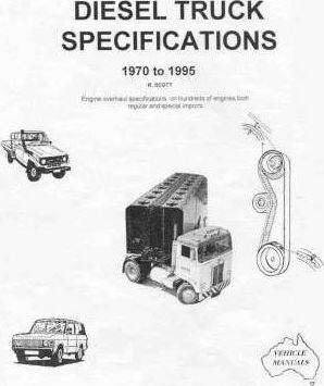 Diesel Truck Specifications 1970-1995