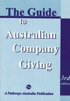 Guide to Australian Company Giving