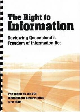 The Right to Information