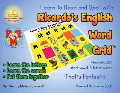 Learn to Read and Spell with Ricardo's English Word Grid(TM)