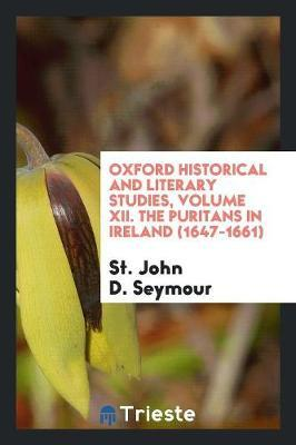 The Puritans in Ireland (1647-1661) Cover Image