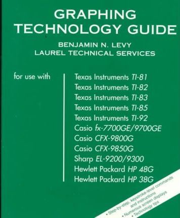 Graphing Technology Guide for Precalculus