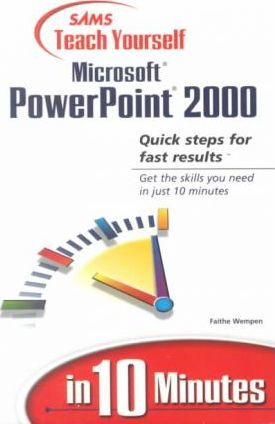 Sams Teach Yourself Office 2000 Pro in 10 Minutes With Outlook/Publisher/Frontpage