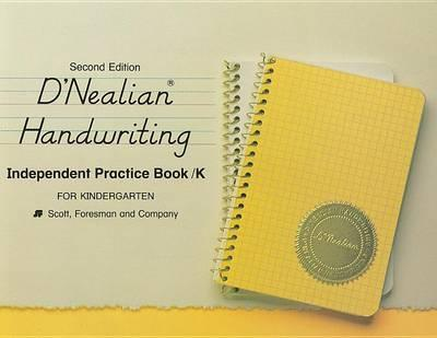 Dnealian Handwriting 1987 Independent Practice Book Grade K
