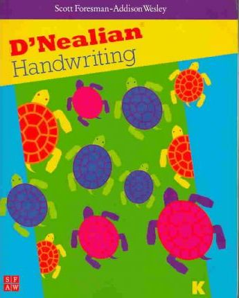 Dnealian Handwriting 1999 Student Edition (Consumable) Grade K