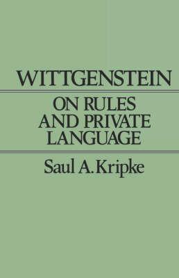 Wittgenstein on Rules and Private Language
