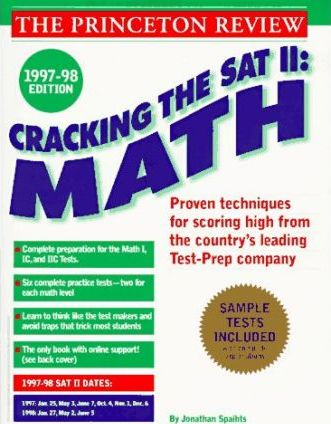 Cracking the Sat II: Math Subject