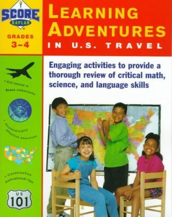 Kaplan Learning Adventures in U S Travel Grades 3-4