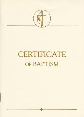United Methodist Covenant I Youth & Adult Certificate, Package of 3