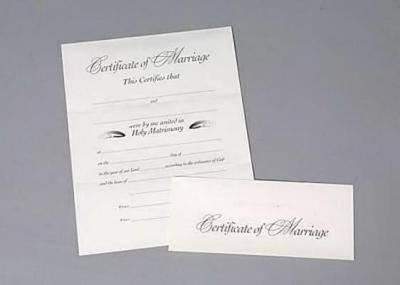 Marriage Revised Certificate