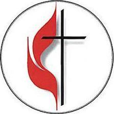United Methodist Cross and Flame Bulletin, Large (Pkg of 50)