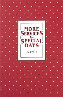 More Services for Special Days