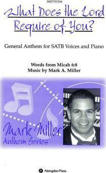 What Does the Lord Require of You Satb Anthem